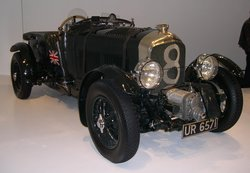 "1929 ""Blower"" Bentley from the Ralph Lauren collection."