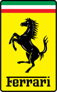 The current Ferrari logo