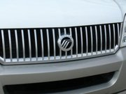 "Current ""waterfall"" grille and Mercury logo on the front of a Mercury Mountaineer"