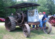 An International Harvester tractor built in 1920.