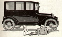 Dodge Brothers 4-Door Sedan, from a 1920 magazine advertisement