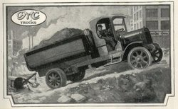 GMC Truck, from a 1919 advertisment