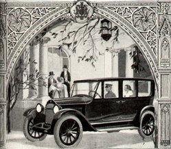 1920 Willys-Knight advertisement